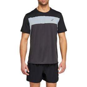 asics Race SS Top Men graphite grey/performance black